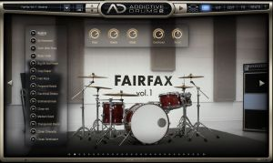 "<a href=""http://www.xlnaudio.com/addictivedrums""><b>Addictive drums</b></a>"