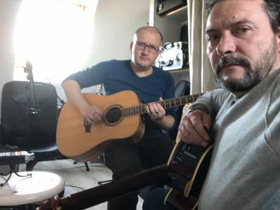 Répétition guitares